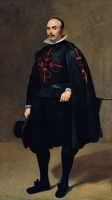 Portrait Of Pedro De Barberana Y Aparregui 1632
