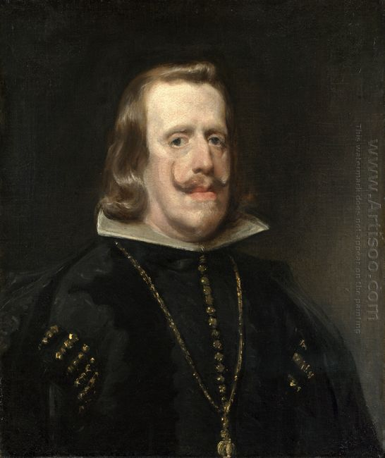 Portrait Of Philip Iv Of Spain 1656