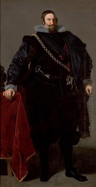 Portrait Of The Count Duke Of Olivares 1624