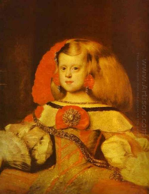 Portrait Of The Infanta Margarita 1660
