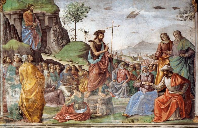 Preaching Of St John The Baptist 1490