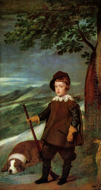 Prince Balthasar Carlos Dressed As A Hunter 1636