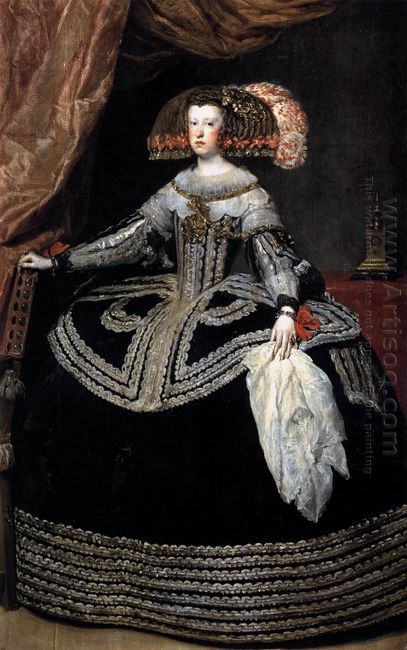 Queen Mariana Of Austria 1653