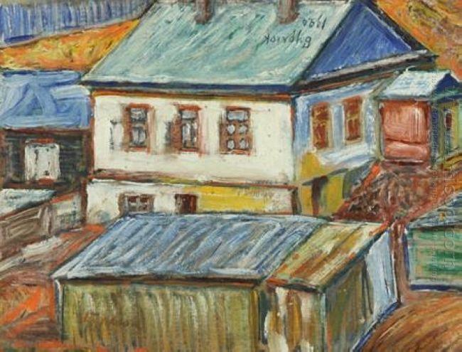 Rooftops In Siberia 1920