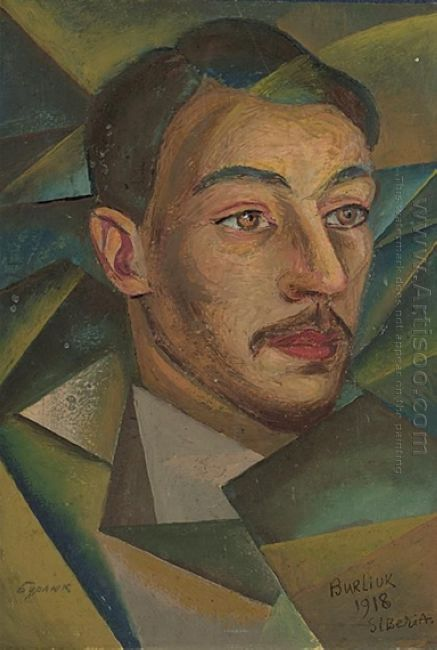 Russian Poet In Siberia 1918