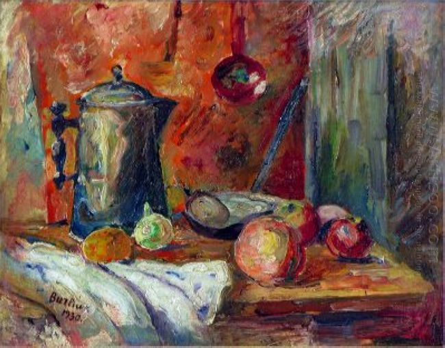 Still Life With A Jug 1930