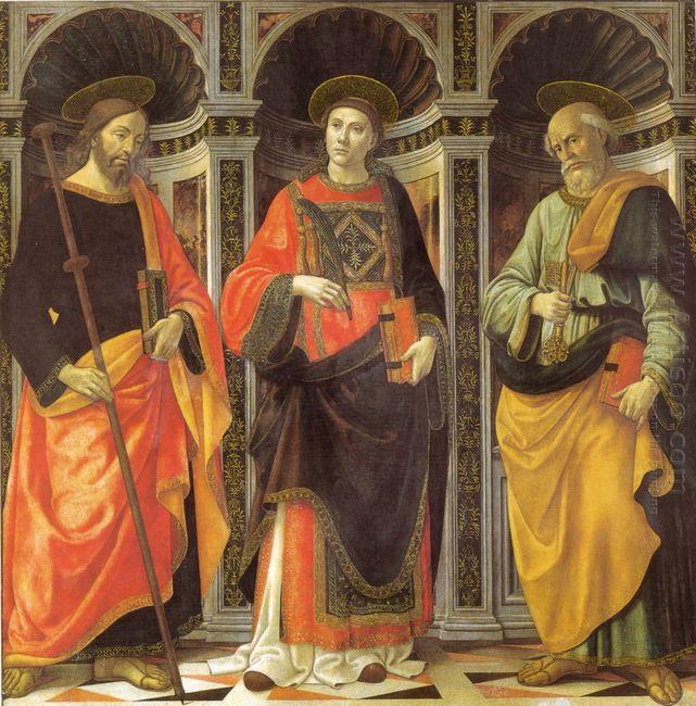 St Stephen St Jacobo St Peter