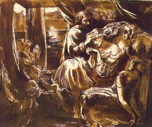Study For The Death Of Lady Macbeth