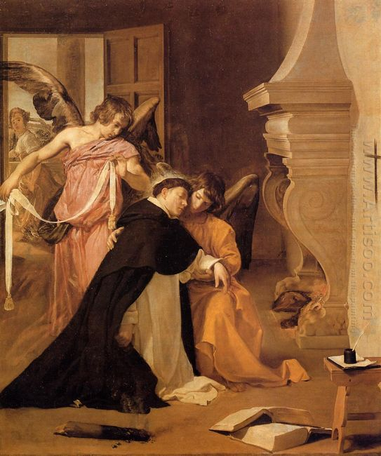 Temptation Of St Thomas Aquinas