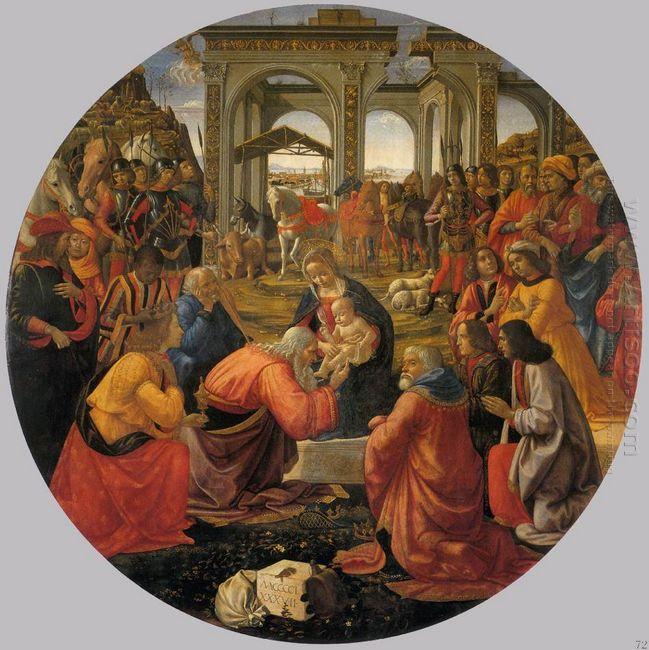 The Adoration Of The Magi 1487