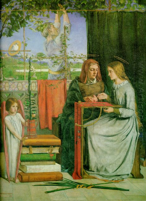 The Childhood Of Mary Virgin 1849
