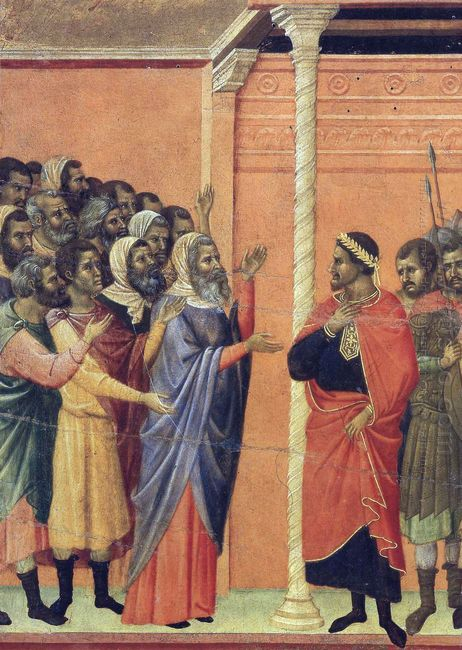 The High Priests Before Pilate 1311