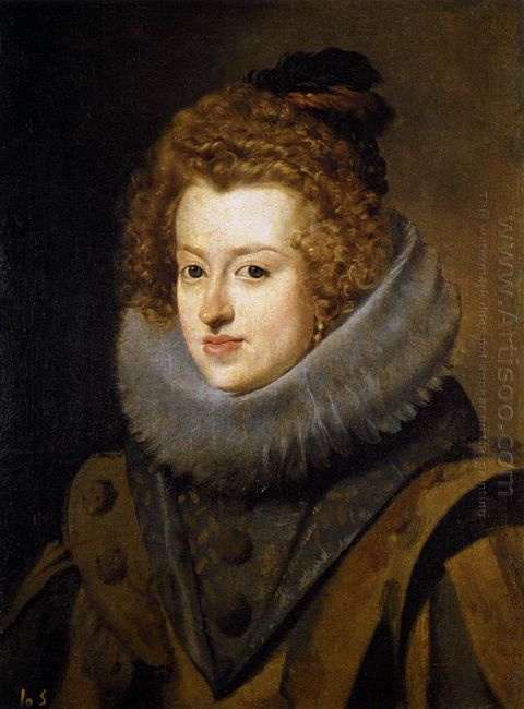 The Infanta Maria Of Austria 1630