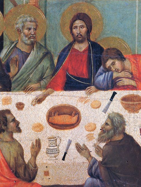 The Last Supper Fragment 1311