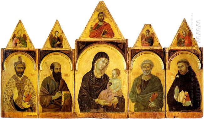 The Madonna And Child With Saints 1310