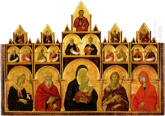 The Madonna And Child With Saints 1318