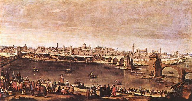 View Of Zaragoza 1647