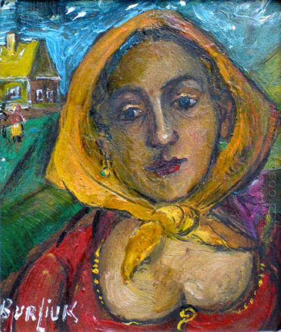 Woman With Yellow Scarf