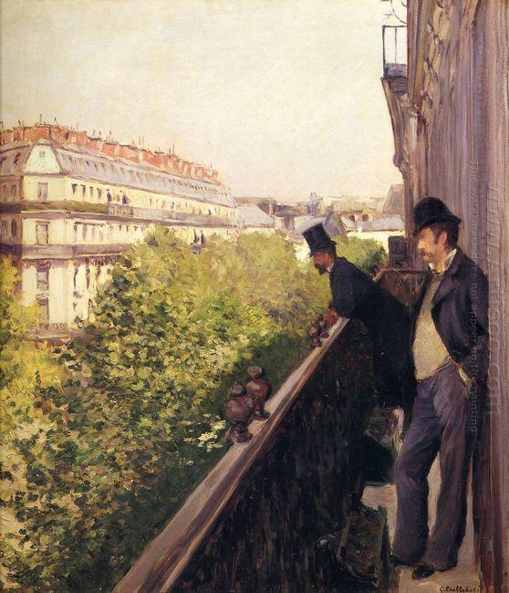 A Balcony Boulevard Haussmann