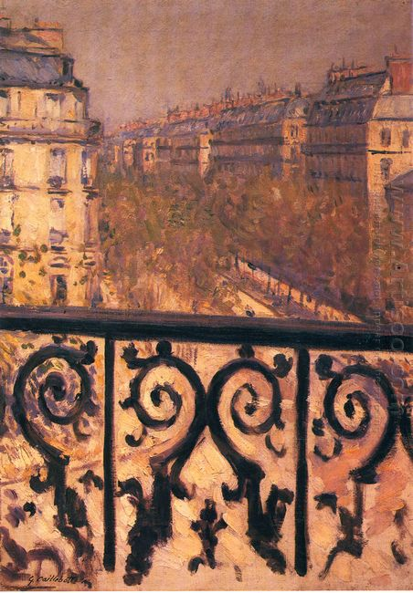 A Balcony In Paris 1881