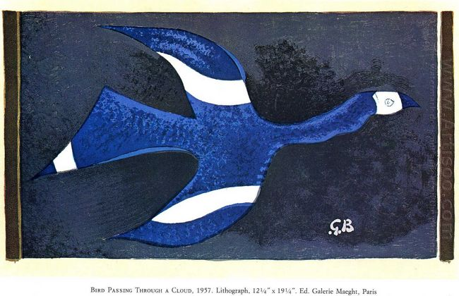 A Bird Passing Through A Cloud 1957