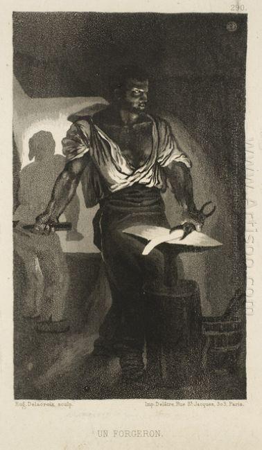 A Blacksmith 1833