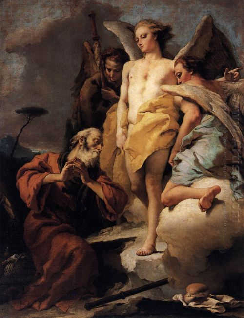 Abraham And The Three Angels 1