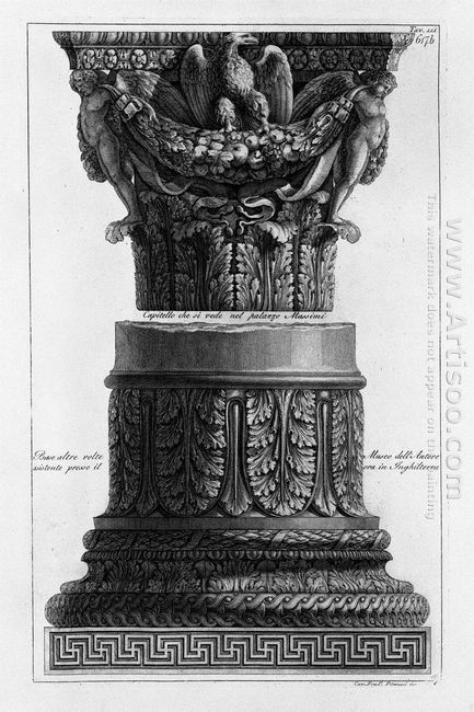 A Capital And A Base Inc F Piranesi