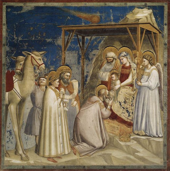 Adoration Of The Magi 1306