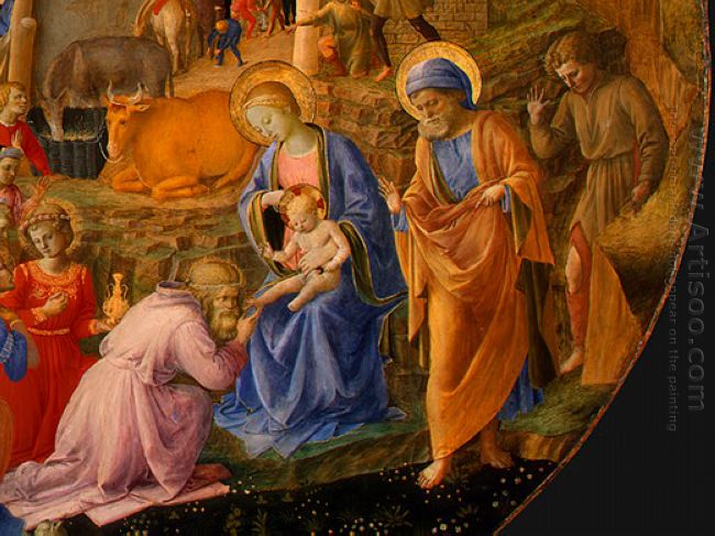 Adoration Of The Magi Detail 1