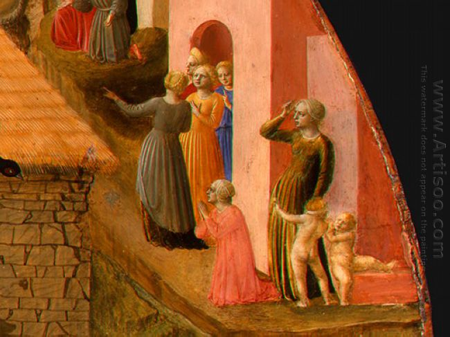 Adoration Of The Magi Detail 3