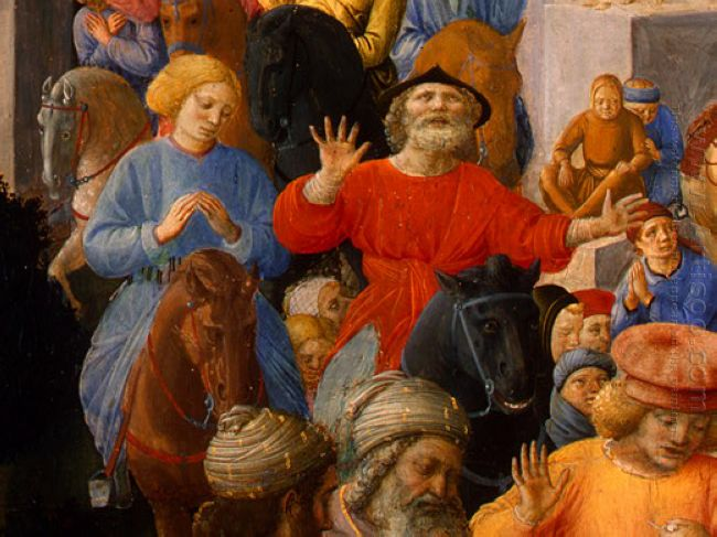 Adoration Of The Magi Detail 4