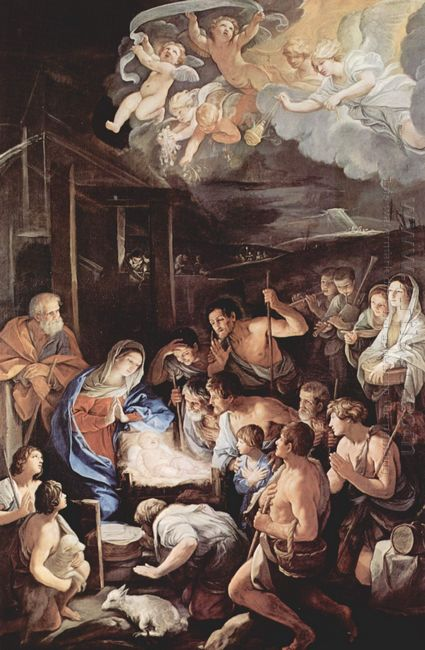 Adoration Of The Shepherds 1642