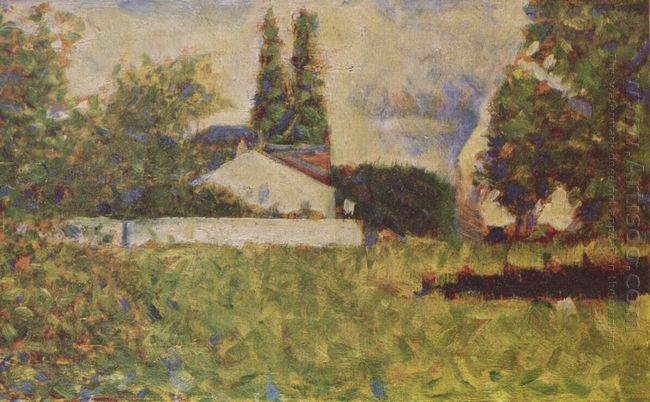 A House Between Trees 1883