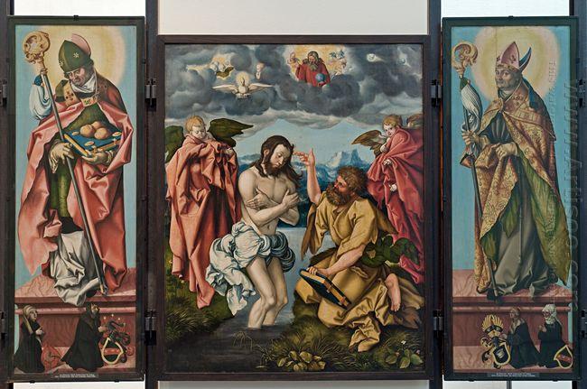 Altar Of St John The Baptist 1520