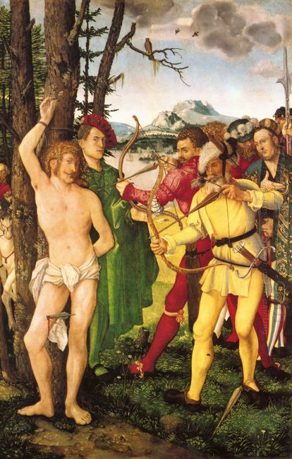 Altarpiece With The Martyrdom Of St Sebastian 1507