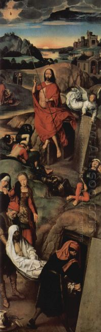 Altar Triptych From The Lübeck Cathedral Detail 1491 6