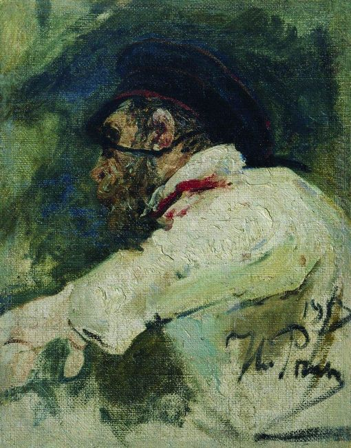 A Man In White Jacket 1913