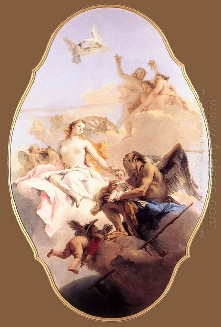 An Allegory With Venus And Time 1758