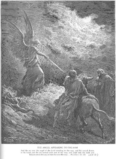 An Angel Appears To Balaam