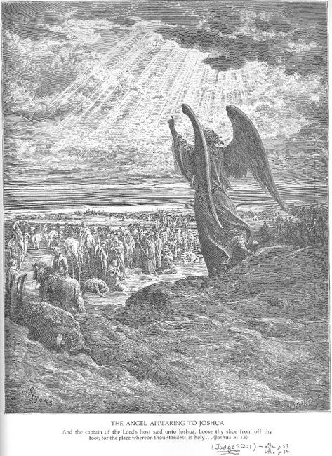 An Angel Appears To The Israelites