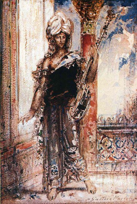 An Arabian Singer 1884