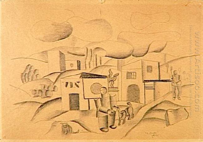 Animated Landscape 1921