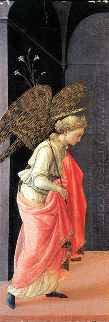 Annunciation Left Wing 1430