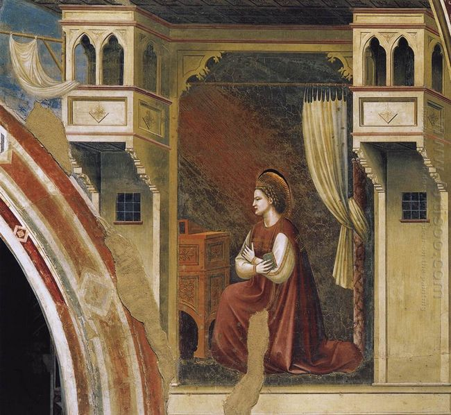Annunciation The Virgin Receiving The Message 1306