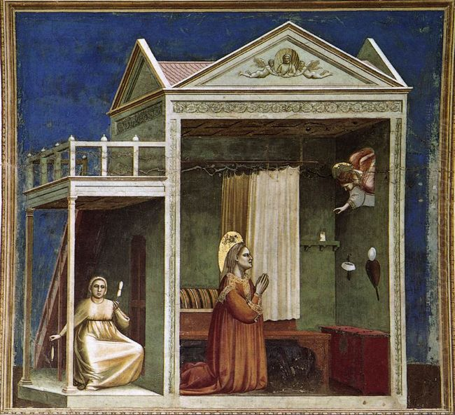 Annunciation To St Anne