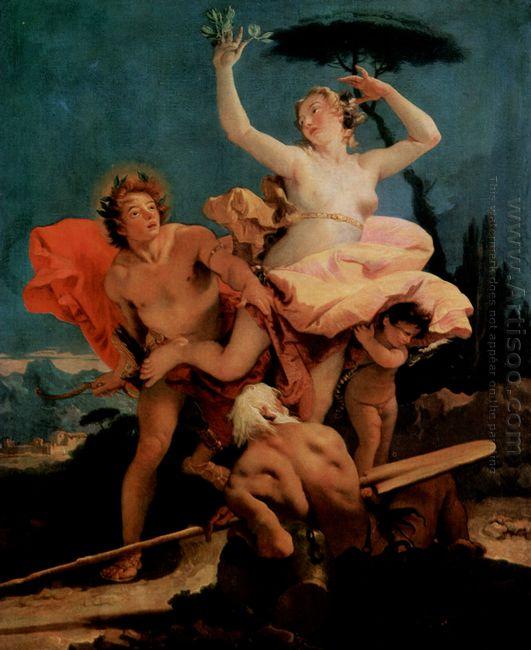 Apollo And Daphne 1744