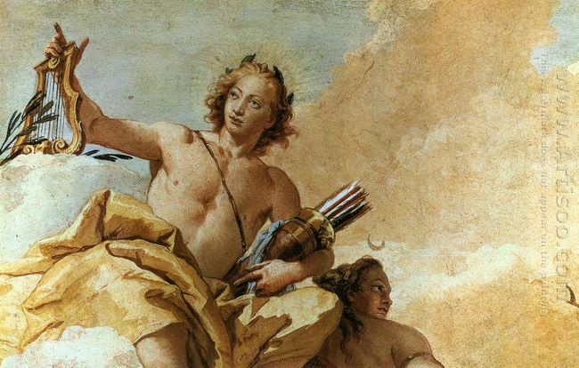 Apollo And Diana 1757