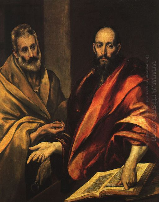 Apostles Peter And Paul 1592