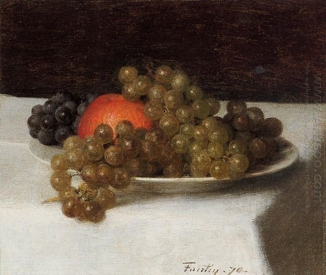 Apples And Grapes 1870
